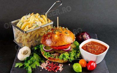 burger de casa